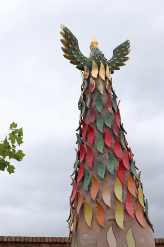 broomhill phoenix sculpture